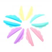 Pads de Silicone Bob para Lash Lifting 5 pares Colorido