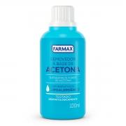 Removedor de Esmalte com Acetona Farmax 100ml