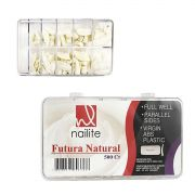 Tips Nailite Futura Natural com 500un