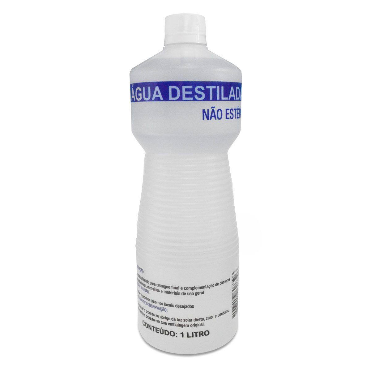 Água Destilada Não Estéril 1L