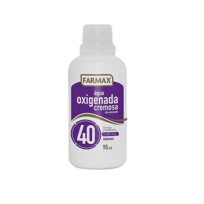 Água Oxigenada Cremosa Farmax 40 Volumes 90ml