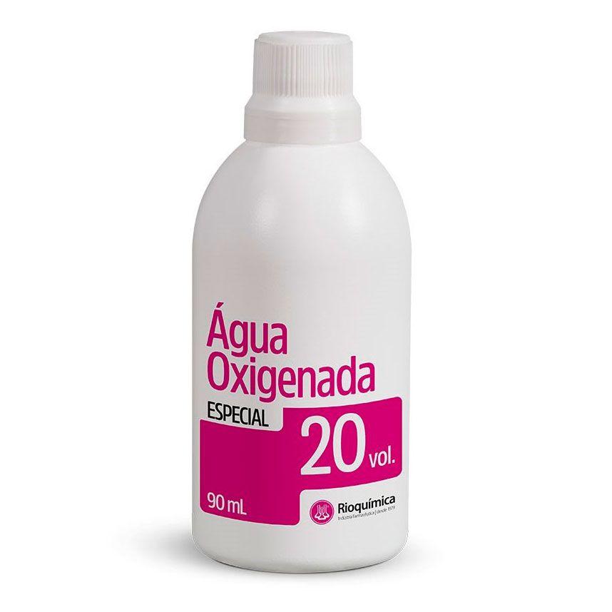 Água Oxigenada Cremosa Rioquimica 20 Volumes 90ml