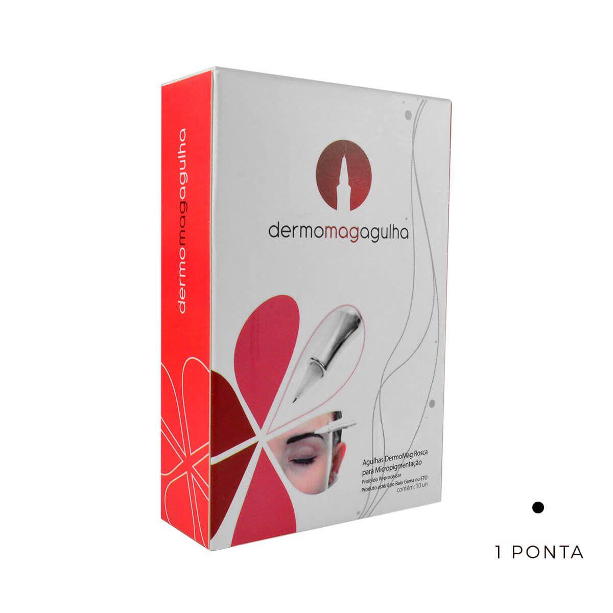 Agulha Dermomag 1 Ponta Pen/Junior