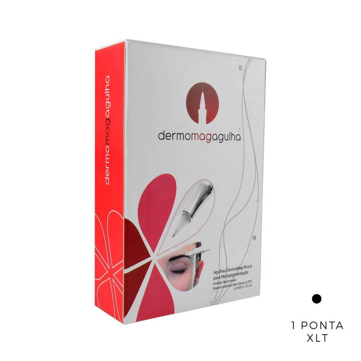 Agulha Dermomag 1 Ponta XLT Pen/Junior