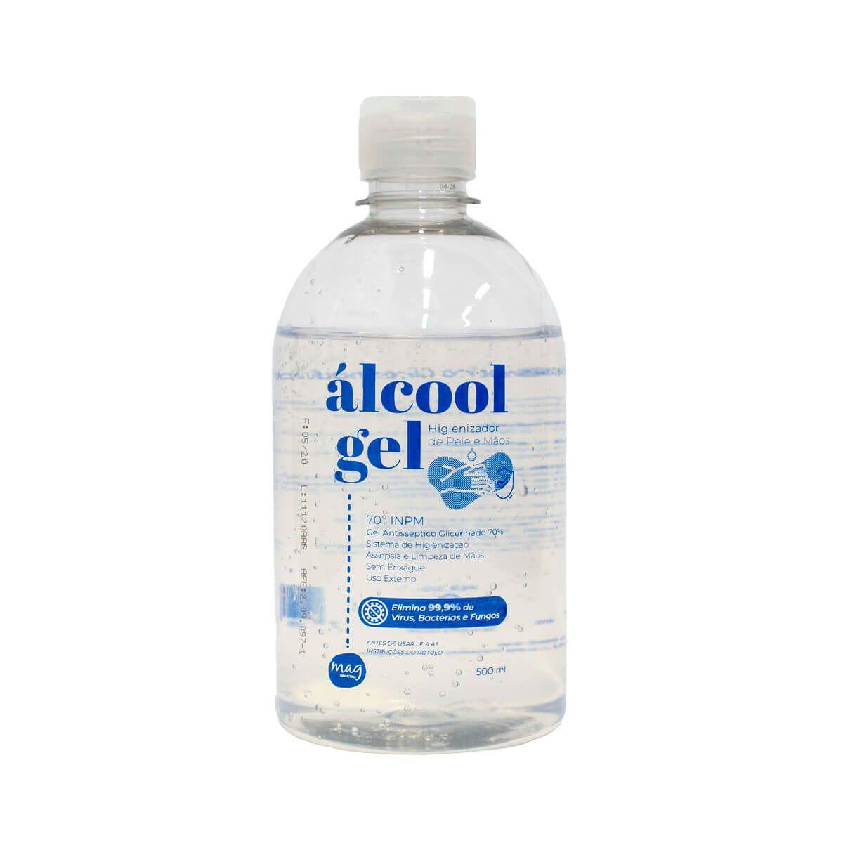 Álcool Gel Antisséptico Glicerinado 70%