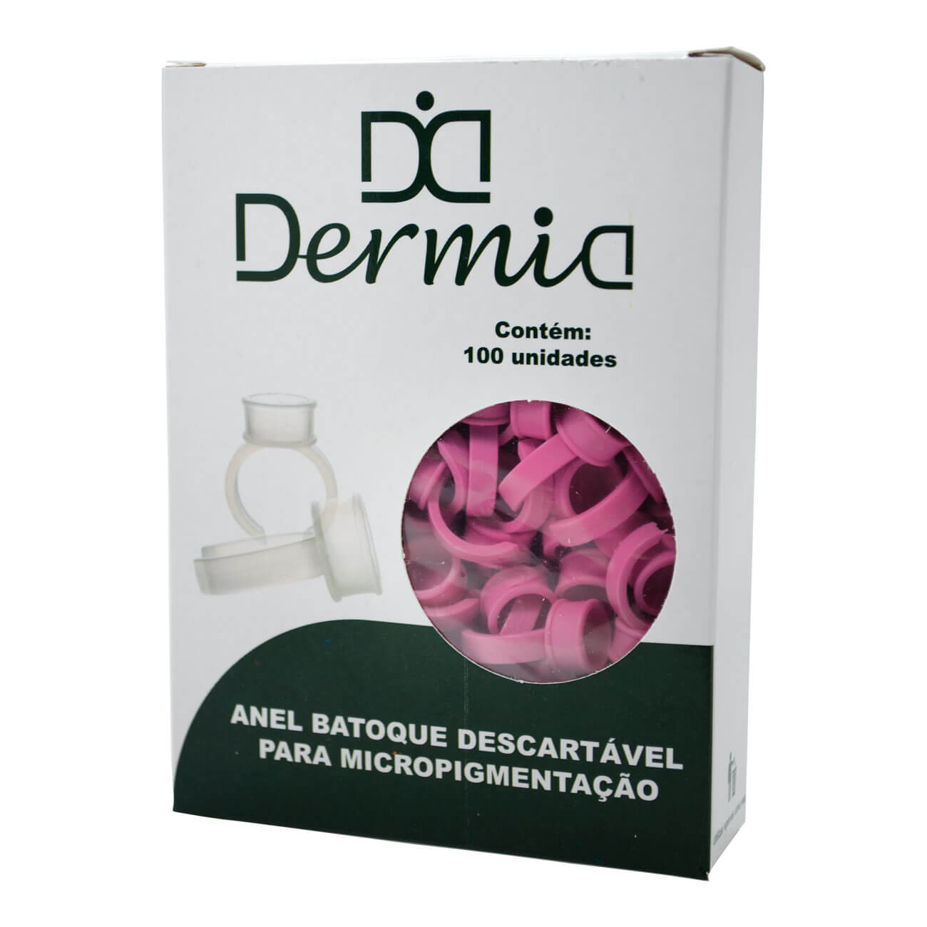 Anel Batoque Descartável Dermia 100un