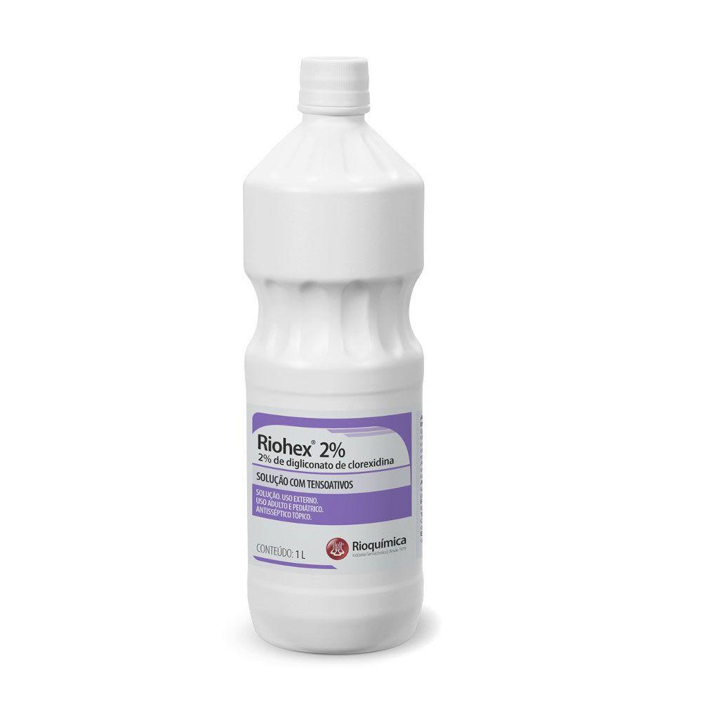 Antisséptico Tópico Riohex 2% 1L