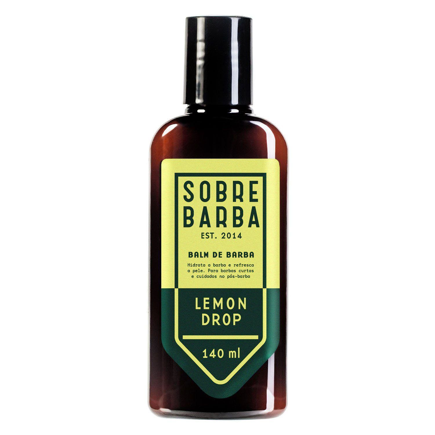 Balm para Barba Sobrebarba Lemon Drop 140ml