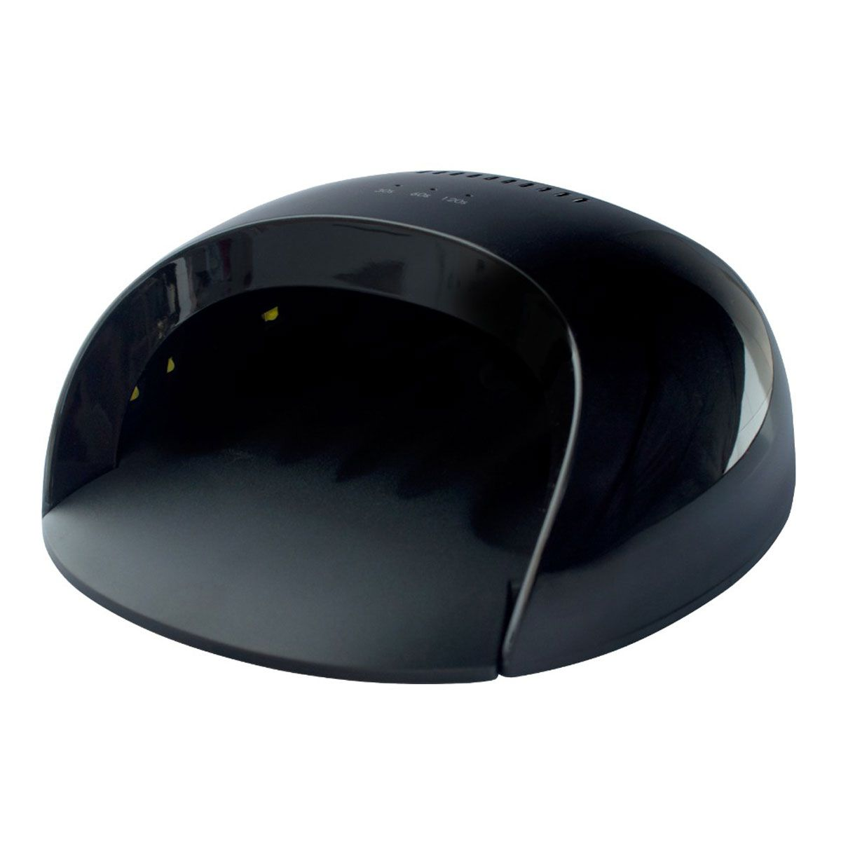 Cabine de Led Nail Lamp Profissional Bivolt Preta