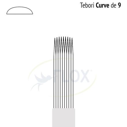 Caneta Tebori Can Can Flox Curve 9 Pontas