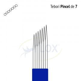 Caneta Tebori Can Can Flox Pincel 7 Pontas