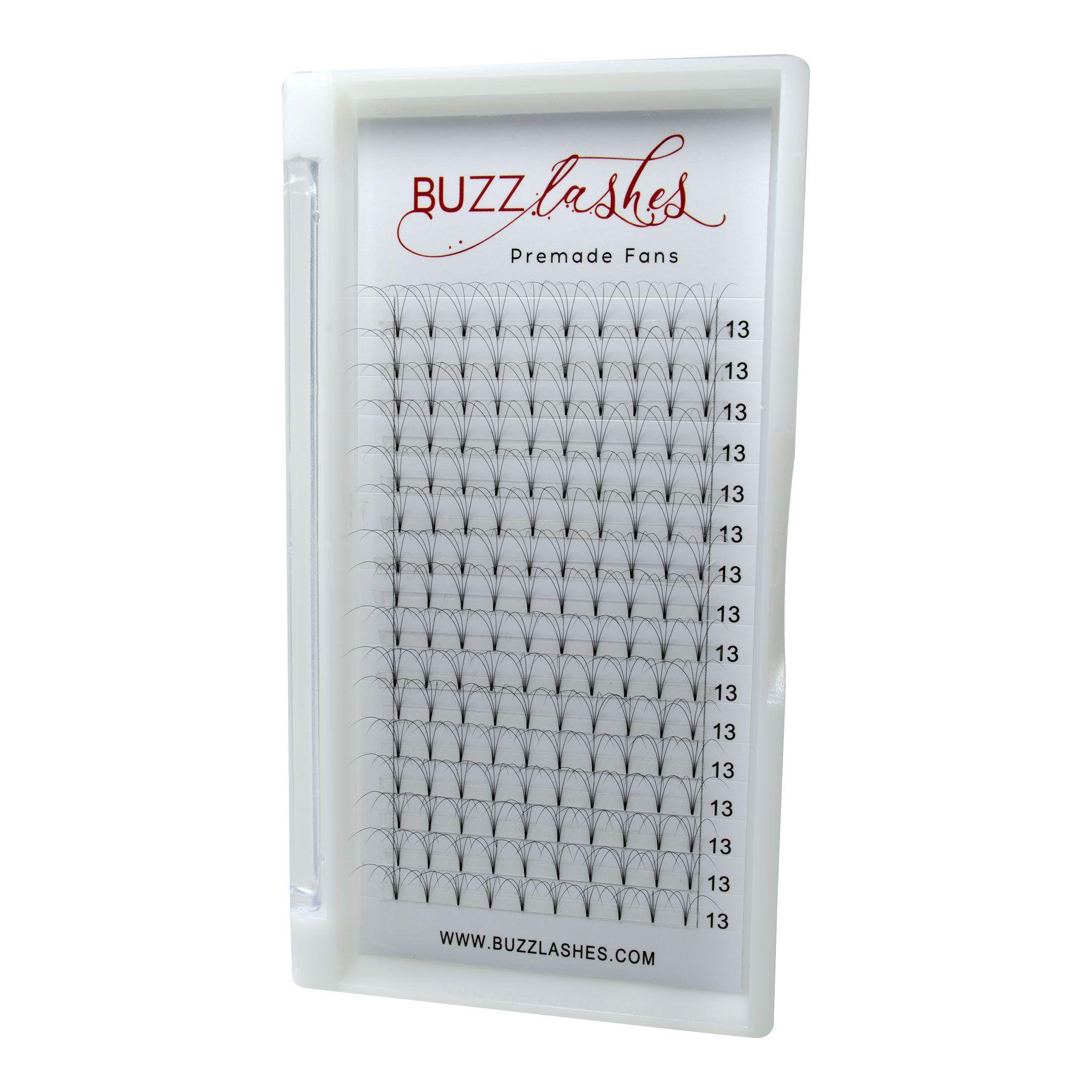 Cílios Buzz Lashes 4D Wide Fans Espessura 0.07mm