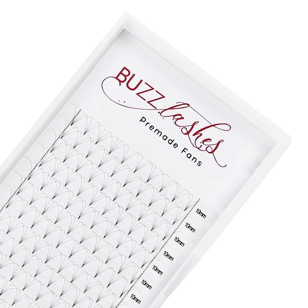Cílios Buzz Lashes 4D Wide Fans Espessura 0.10mm