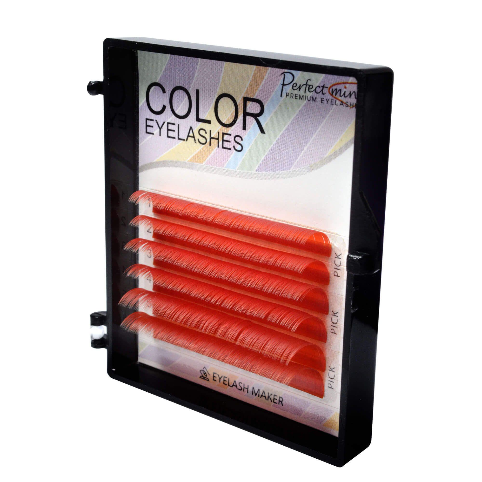Cílios Color Perfect Mini 6 Fileiras Curvatura C