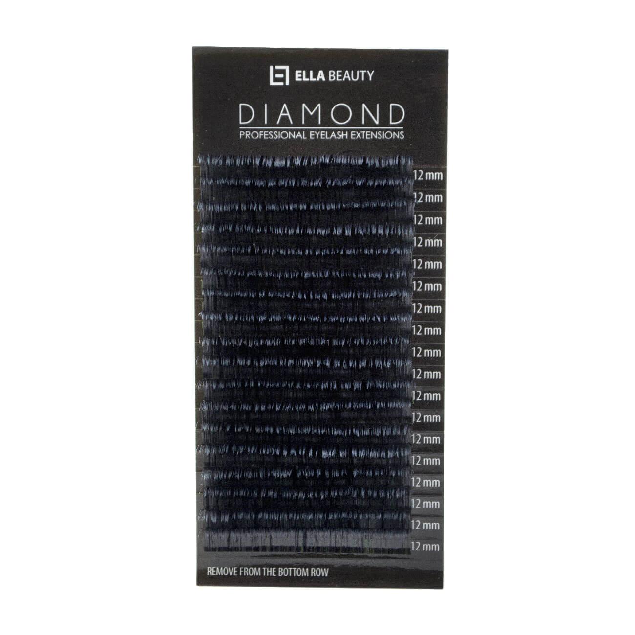 Cílios Diamond Premium Silk Curvatura D