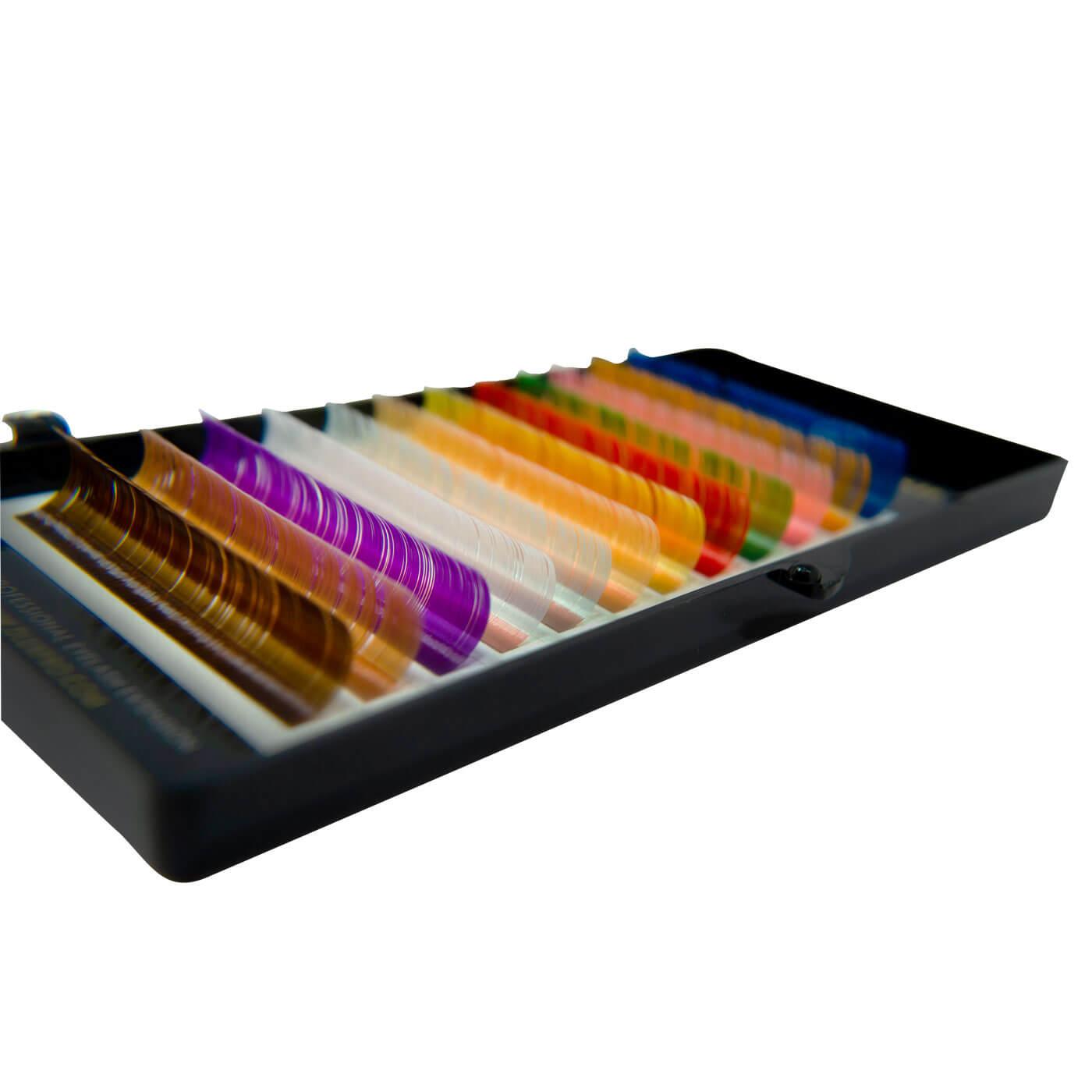 Cílios Dlux Color Lash Espessura 0.07mm 12 Linhas