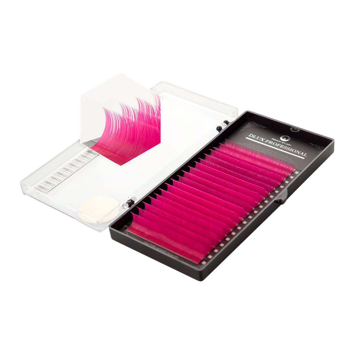 Cílios Dlux Pro Silk Lash 18 Linhas Color Cuvatura D
