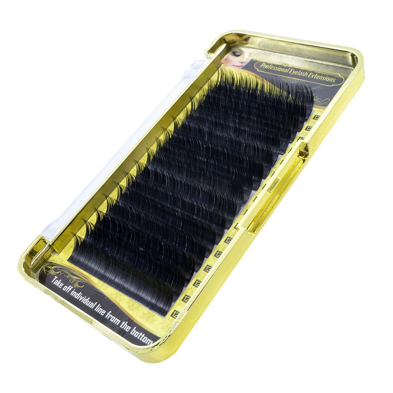 Cílios Fio a Fio Flat Split 0.15 D Buzz Lashes