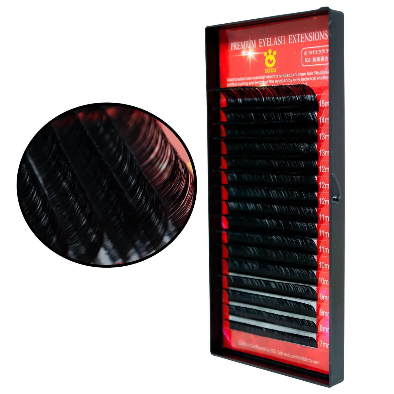 Cílios Ioiu Premium Lash Curvatura C Mix 7-15mm