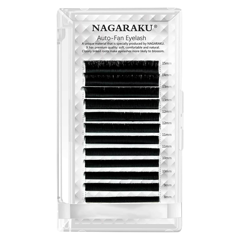 Cílios Nagaraku Auto Fan Volume Russo Espessura 0.05mm