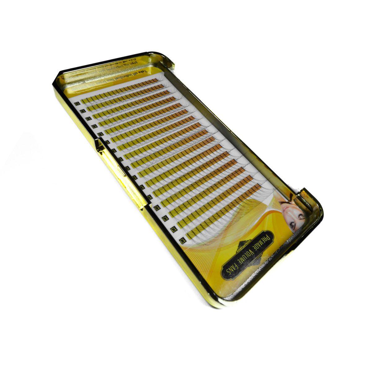 Cílios Tufinho Premade 3D 0.07 C 320 Fãs
