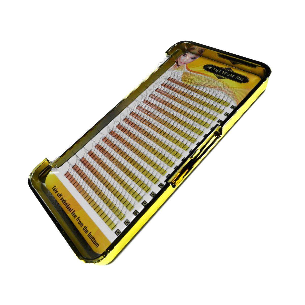 Cílios Tufinho Premade 3D 0.07 D 320 Fãs