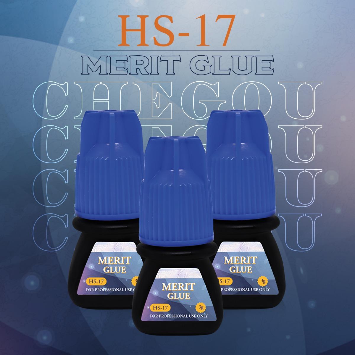 Cola HS-17 Merit Glue para Extensão de Cílios 3ml