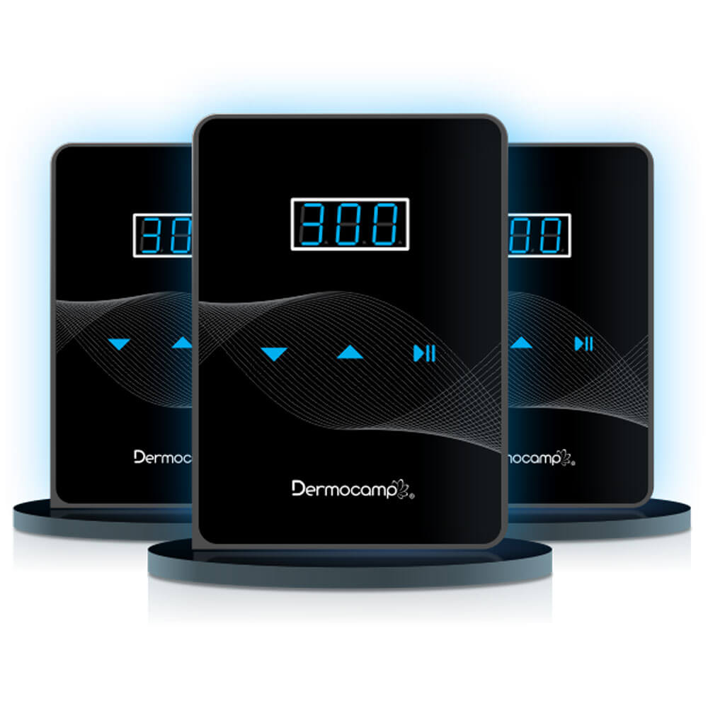 Combo Controle Slim Dark Preto + Sharp 300 Pro Prata