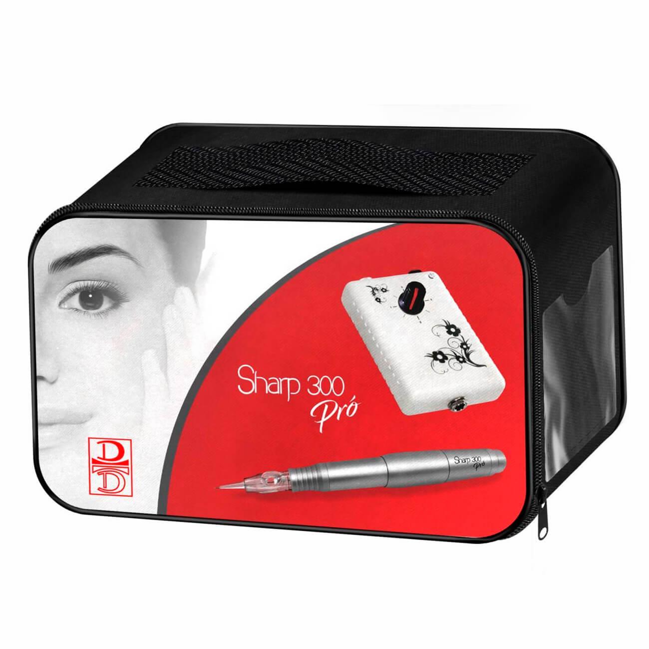 Conjunto Controle Analógico + Dermógrafo Sharp 300 Pró Preto