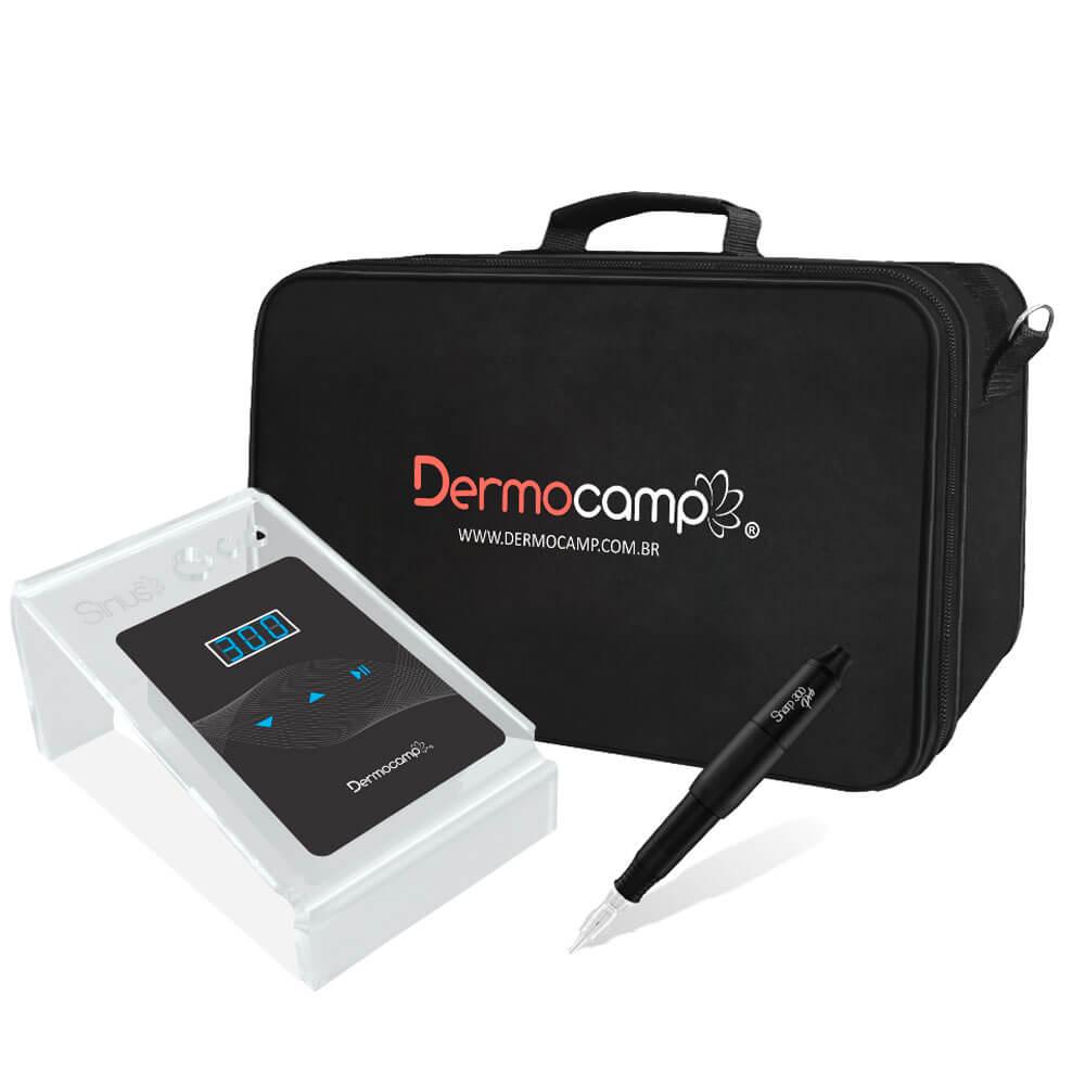 Conjunto Controle Digital Sirius Dark + Dermografo Sharp 300 Pró Preto