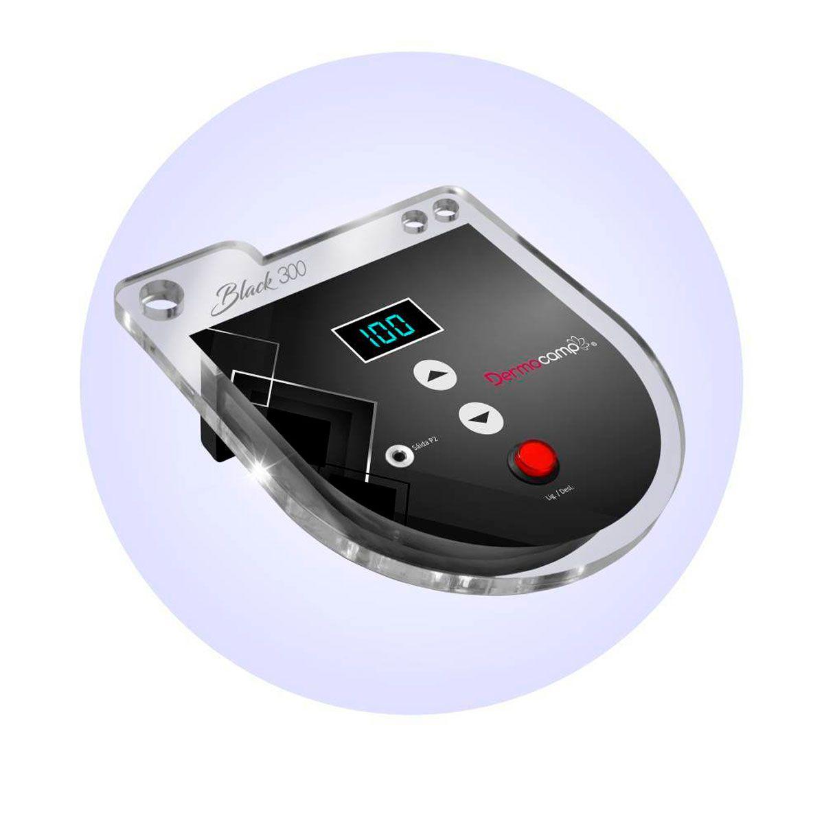 Controle de Velocidade Digital Dermocamp Black