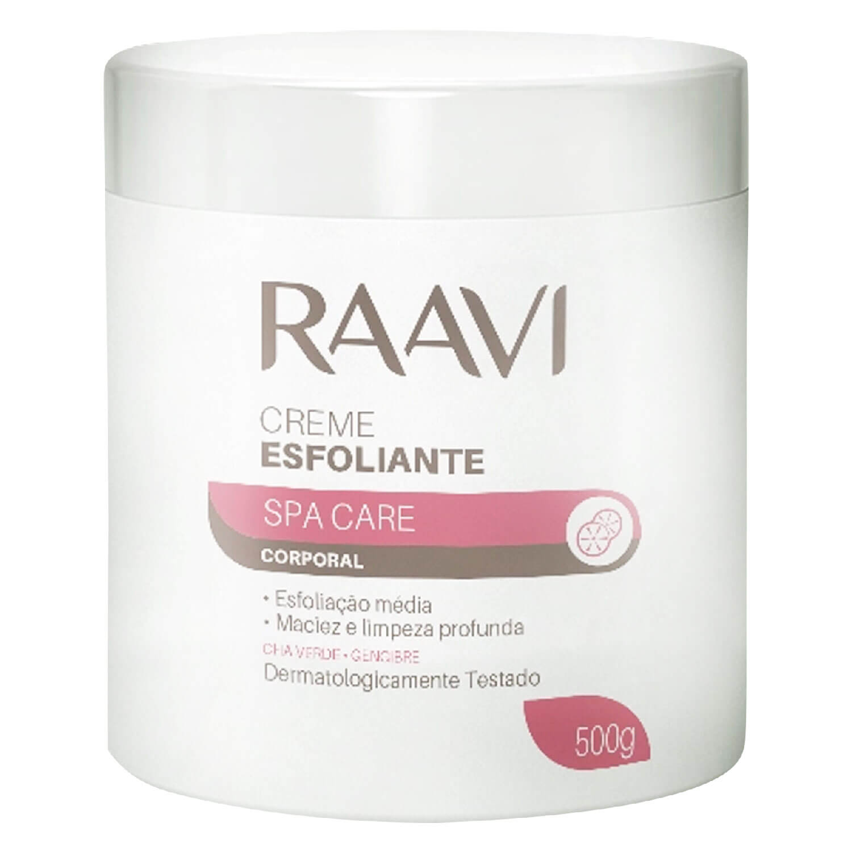 Creme Esfoliante Corporal Raavi Spa Care 500g