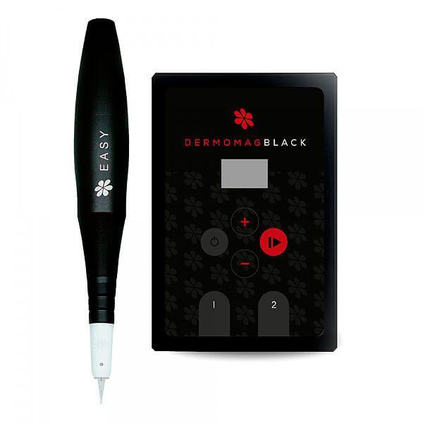 Dermógrafo Dermomag Pen Easy Fonte Black