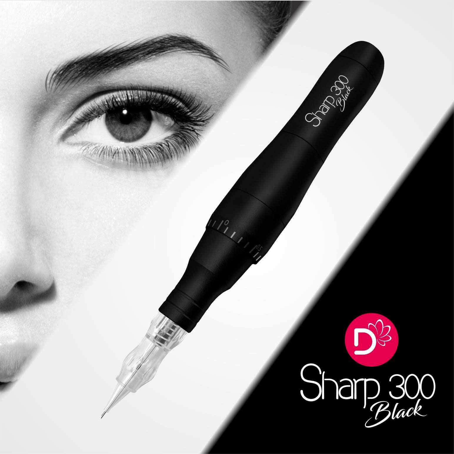 Dermografo Sharp 300 Black Caneta Avulso
