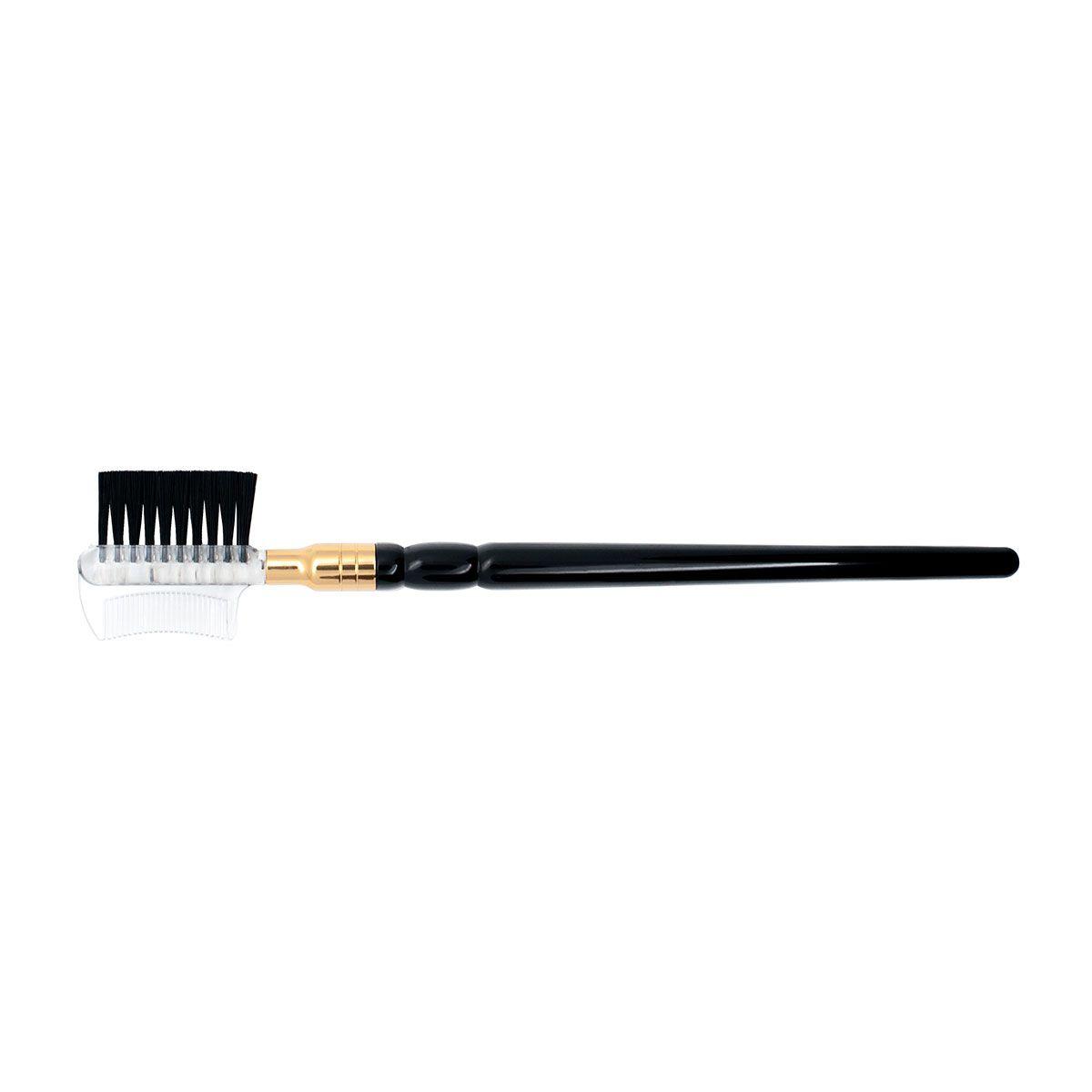 Escovinha para Cílios e Sobrancelhas Eyebrow combo Brush