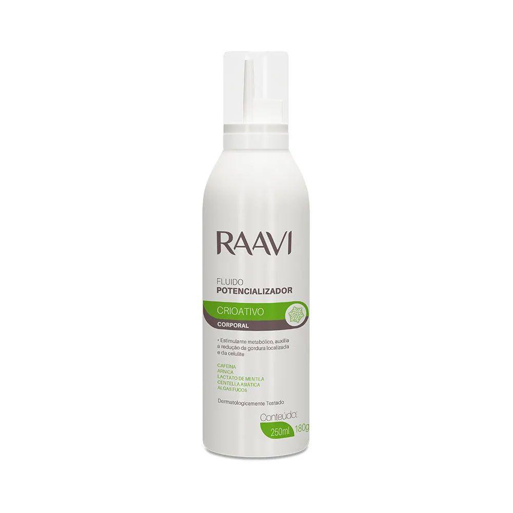 Fluído Potencializador Corporal Raavi Crioativo 250ml