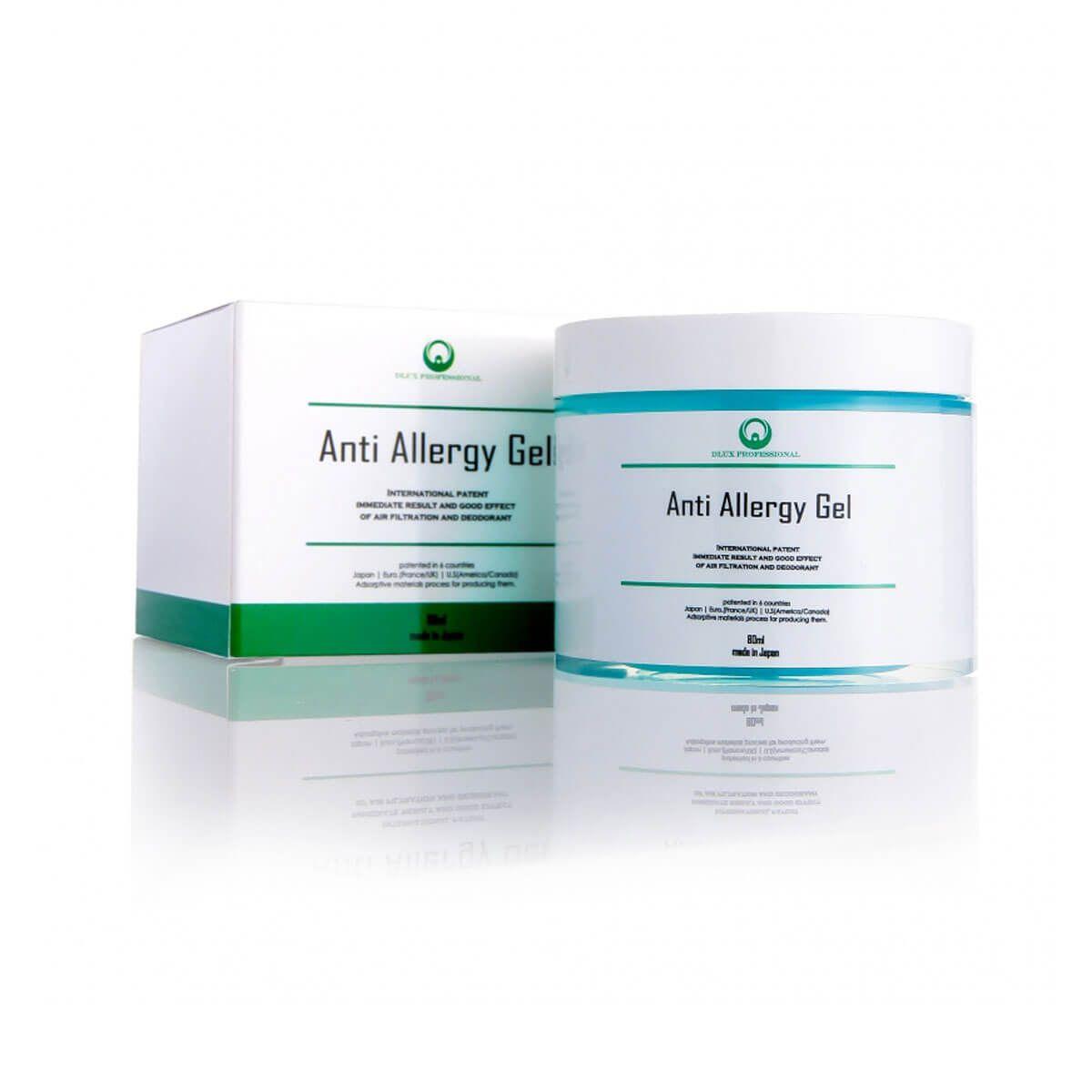 Gel Anti Alérgico Dlux Professional 80ml