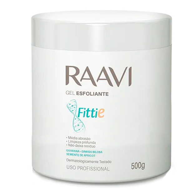 Gel Esfoliante Raavi Fittie Corporal 500g