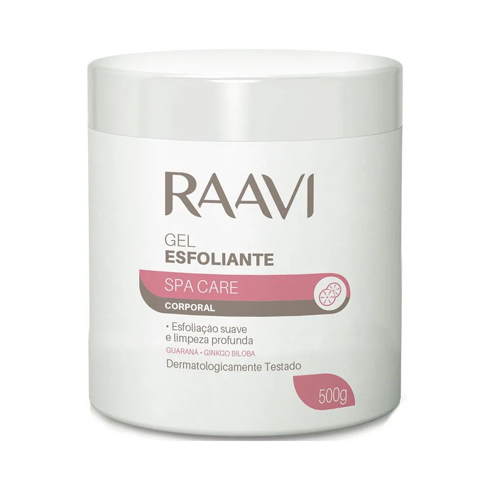 Gel Esfoliante Raavi Spa Care Corporal 500g