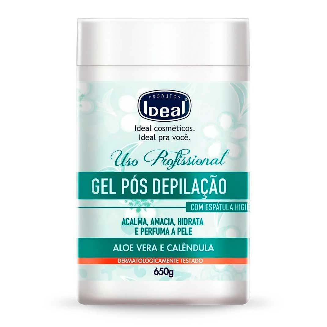 Gel Pós Depilação Ideal Aloe Verae Calêndola 650gr