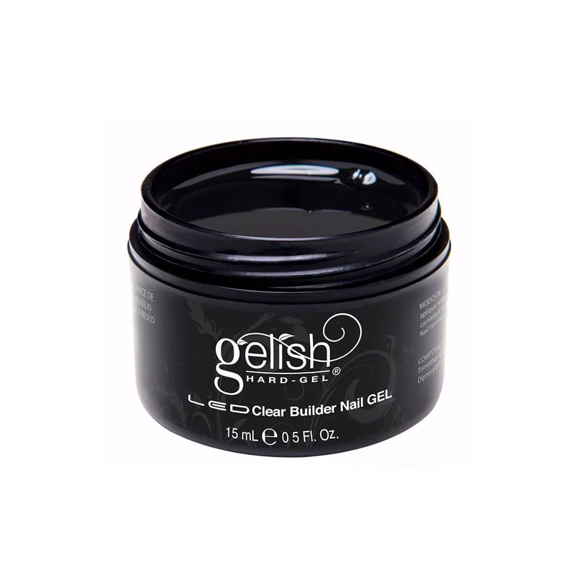 Gelish Hard Gel Harmony Clear Builder Nail Gel 15ml