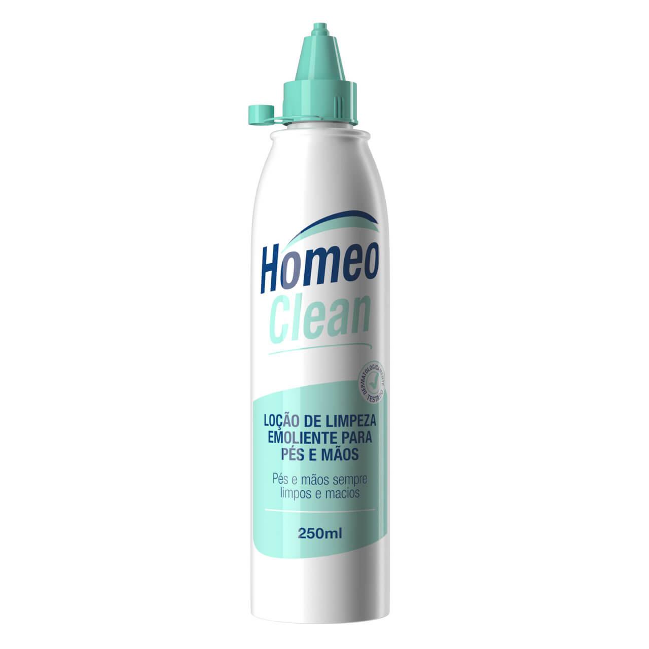 HomeoClean Loção de limpeza emoliente para pés e mãos