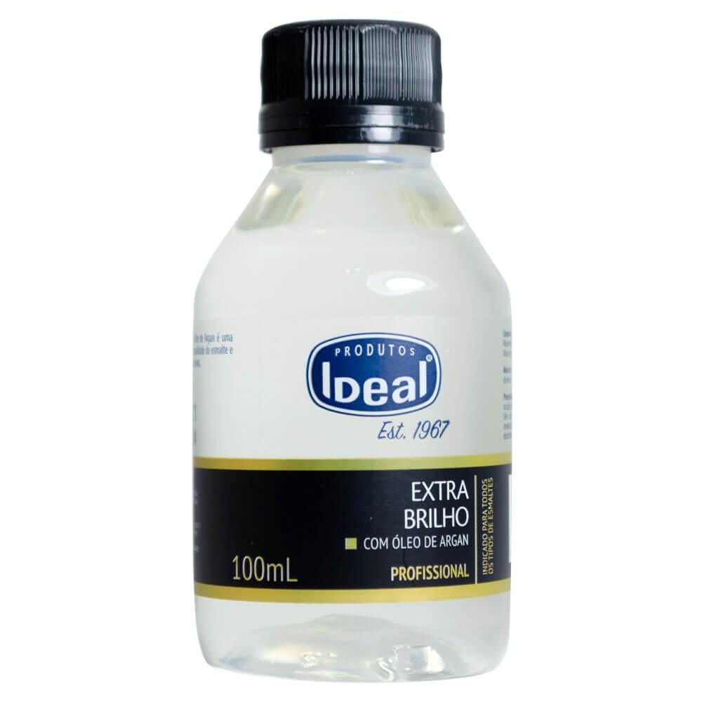 Ideal Base Extra Brilho Óleo Argan 100ml