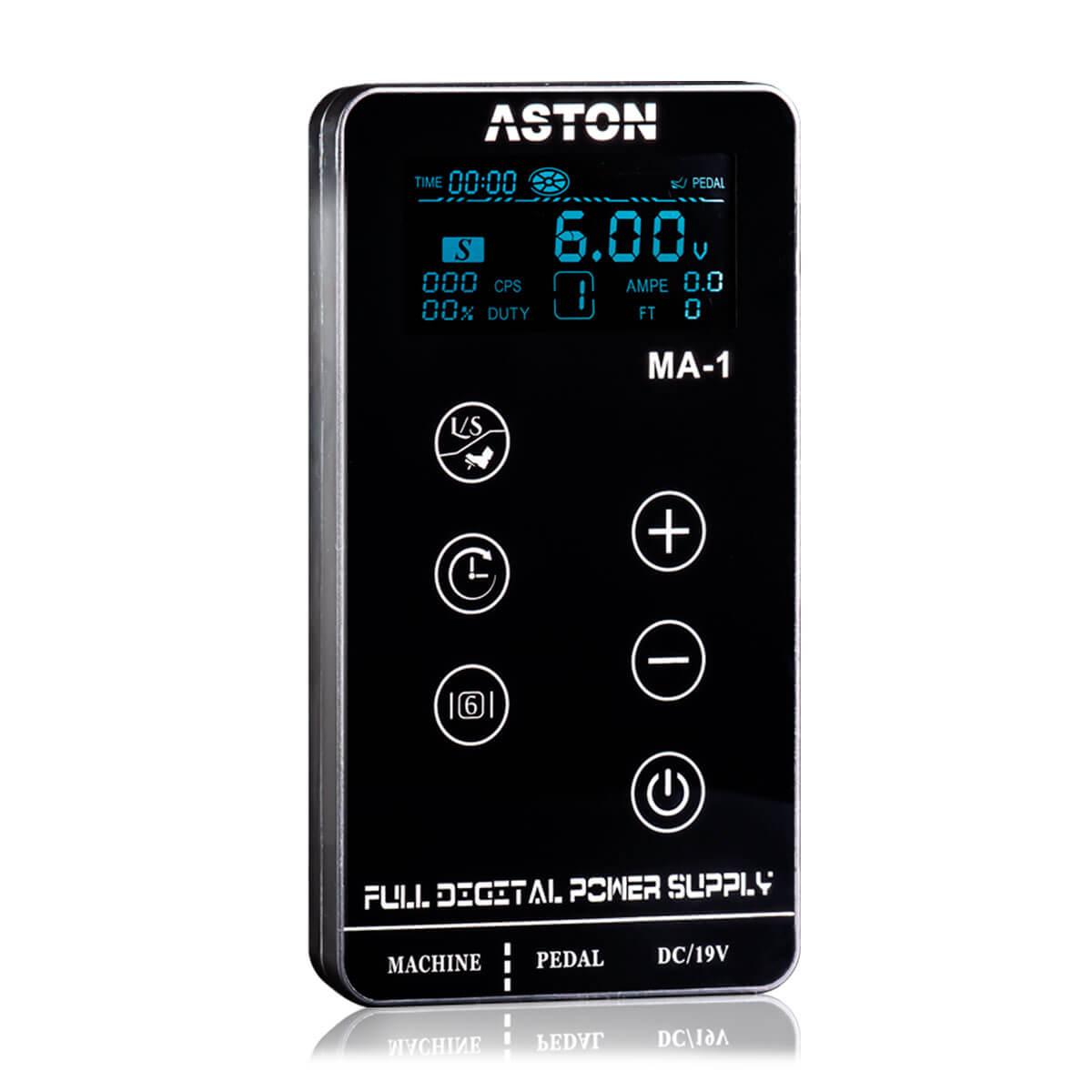 Kit Aston Pen Create Dourado + Fonte Aston Ma-1