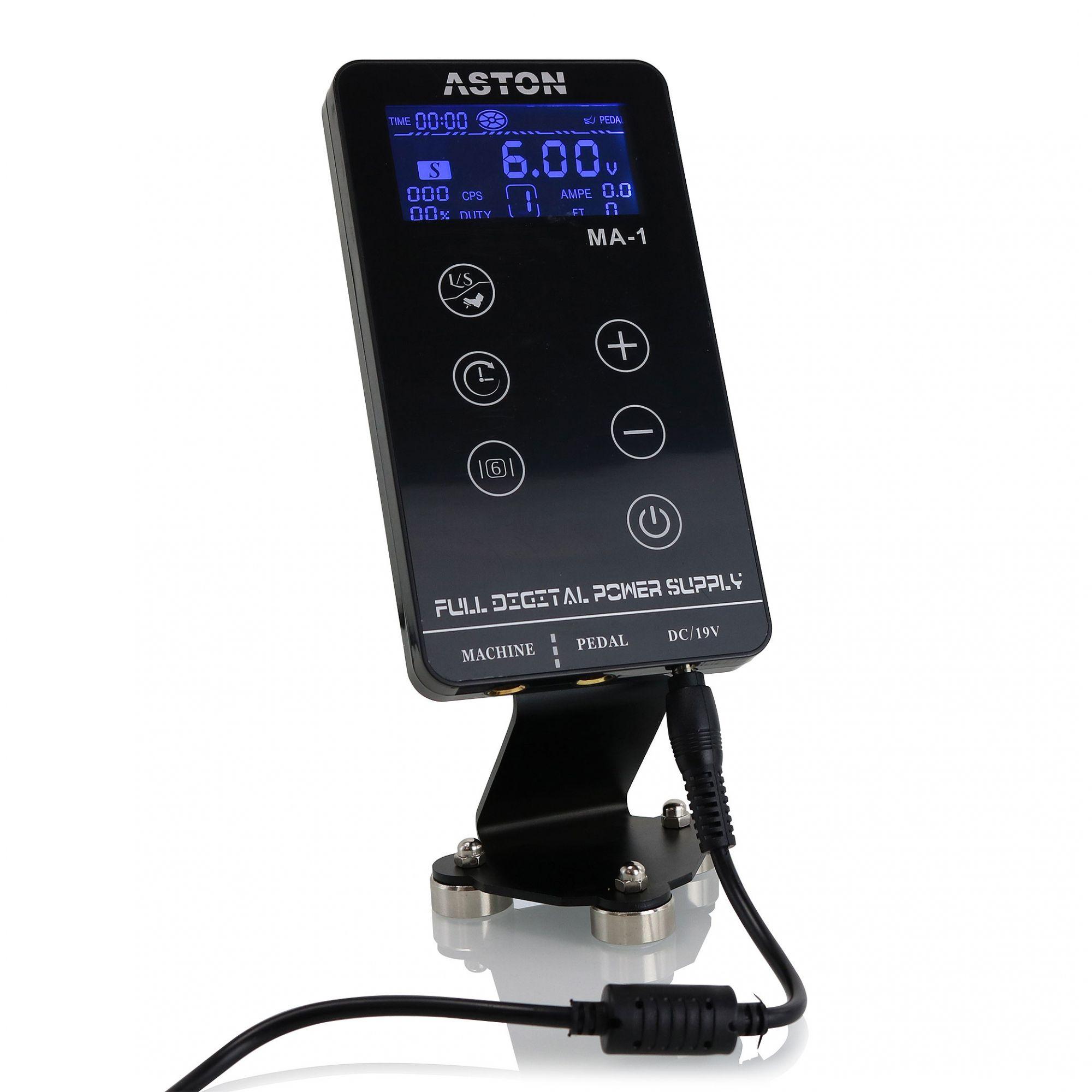 Kit Aston Pen Create Prata + Fonte Aston Ma-1