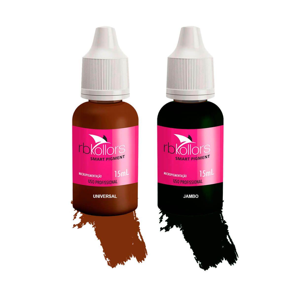 Pigmento Rb Kollors 15ml Kit Jambo + Universal