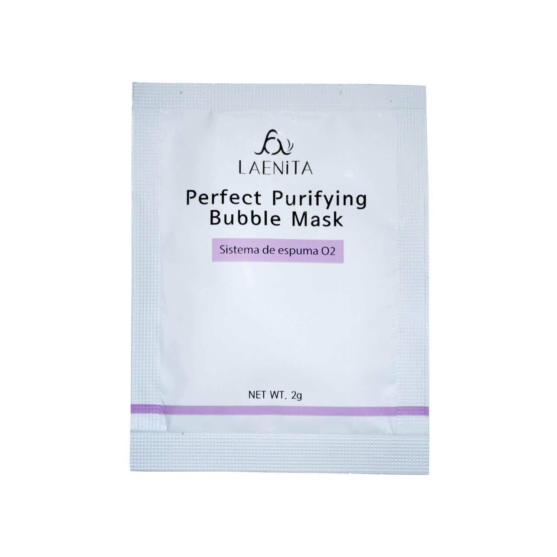 Laenita Perfect Purifying Bubble Mask Espuma de limpeza 10un