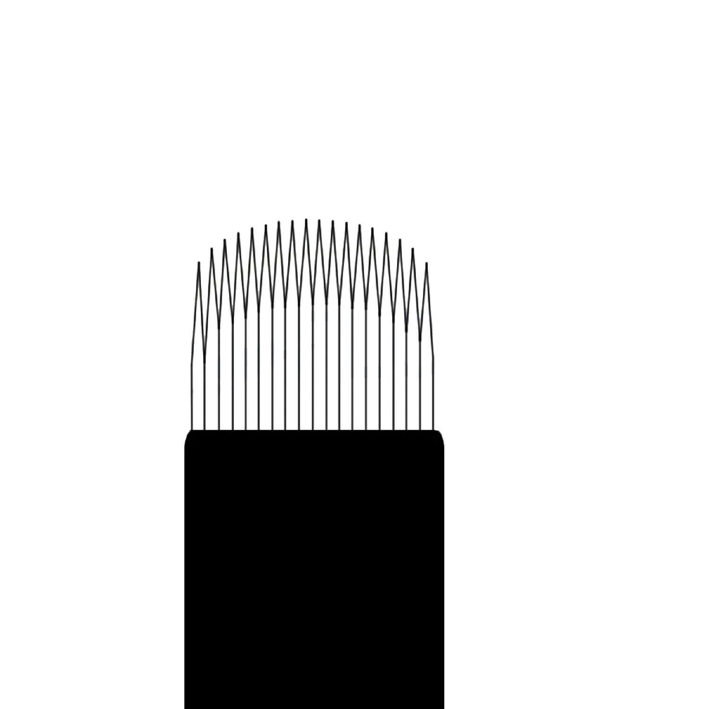 Lâmina Flox Tebori Curve 18 Pts c/ Anvisa - Kit 20 Un.
