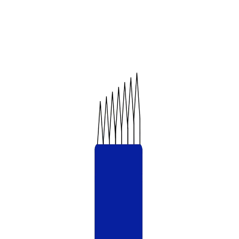 Lâmina Flox Tebori Pincel 7 Pts c/ Anvisa - Kit 20 Uni.