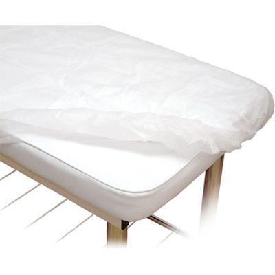 Lençol Descartável Protdesc Branco 30gm² Com Elástico 10un
